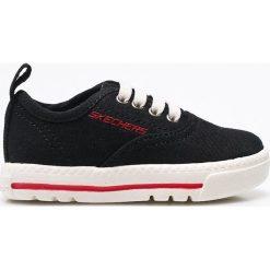Skechers - Tenisówki dziecięce. Szare buty sportowe chłopięce Skechers, z materiału. W wyprzedaży za 59,90 zł.