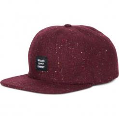 Czapka Herschel Albert Cap (1020-0456). Brązowe czapki z daszkiem męskie Herschel. Za 69,99 zł.