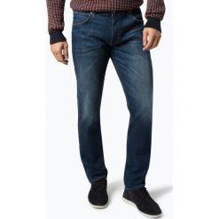 Wrangler - Jeansy męskie – Greensboro, niebieski. Niebieskie jeansy męskie regular Wrangler. Za 379,95 zł.