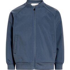 Next Kurtka Bomber blue. Niebieskie kurtki chłopięce przeciwdeszczowe Next, z bawełny. W wyprzedaży za 135,20 zł.
