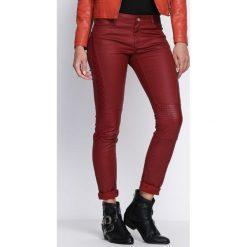 Spodnie damskie: Bordowe Spodnie Last Dream