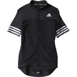 Adidas Koszulka rowerowa Adistar SS Jersey M czarna r. M (S05518). Białe odzież rowerowa męska marki Adidas, l, z jersey, do piłki nożnej. Za 229,00 zł.