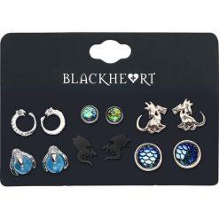 Kolczyki damskie: Blackheart Dragon Collection Kolczyki – Earpin wielokolorowy