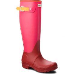 Kalosze HUNTER - Org Tall Colourblock WFT2019RMA  Military Red. Czerwone buty zimowe damskie Hunter, z kauczuku. Za 619,00 zł.
