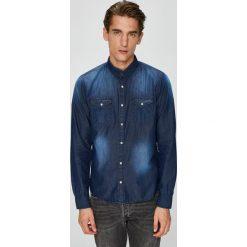 Brave Soul - Koszula. Szare koszule męskie jeansowe marki Brave Soul, l, z klasycznym kołnierzykiem, z długim rękawem. W wyprzedaży za 69,90 zł.