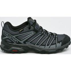 Salomon - Buty X Ultra 3 Prime Gtx. Czarne buty trekkingowe męskie Salomon, z gore-texu, na sznurówki, outdoorowe, gore-tex. W wyprzedaży za 479,90 zł.