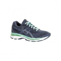 Buty do biegania GEL ZIRUSS damskie. Czarne buty do biegania damskie marki Kazar, z nubiku, przed kolano, na wysokim obcasie. Za 499,99 zł.