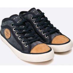 Pepe Jeans - Tenisówki dziecięce. Szare buty sportowe chłopięce Pepe Jeans, z gumy, na sznurówki. W wyprzedaży za 129,90 zł.