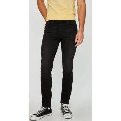 Selected - Jeansy Leon. Niebieskie jeansy męskie slim marki House. W wyprzedaży za 269,90 zł.