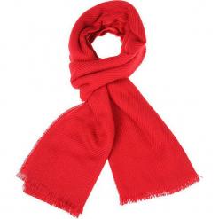 """Szal """"Rouge"""" w kolorze czerwonym - 190 x 65 cm. Czerwone szaliki damskie Scottage, z materiału. W wyprzedaży za 45,95 zł."""