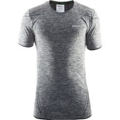 Męski T-shirt funkcyjny CRAFT Active Comfort B999. Szare podkoszulki męskie Astratex, m, z dzianiny, z krótkim rękawem. Za 130,99 zł.