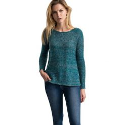 """Swetry klasyczne damskie: Sweter """"Boni"""" w kolorze niebieskim"""