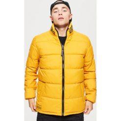 Dwustronna kurtka - Żółty. Żółte kurtki męskie marki Cropp, l. Za 229,99 zł.