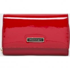 Monnari - Portfel skórzany. Różowe portfele damskie Monnari, z materiału. W wyprzedaży za 139,90 zł.