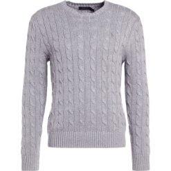 Polo Ralph Lauren Sweter fawn grey heather. Szare swetry klasyczne męskie marki Polo Ralph Lauren, m, z bawełny, polo. W wyprzedaży za 382,85 zł.