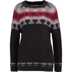 Swetry klasyczne damskie: Replay Sweter black/grey