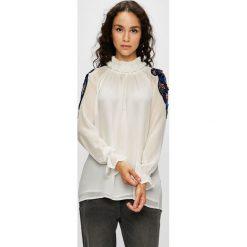 Silvian Heach - Bluzka. Szare bluzki wizytowe marki Silvian Heach, s, z materiału, eleganckie, ze stójką. W wyprzedaży za 479,90 zł.