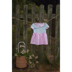Sukienka Sweet Cupcake. Brązowe sukienki dziewczęce z falbanami Pakamera, z bawełny. Za 119,00 zł.