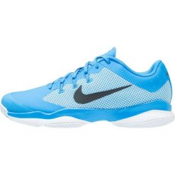 Nike Performance AIR ZOOM ULTRA CLAY Obuwie do tenisa Outdoor light photo blue/black/white. Niebieskie buty do tenisa męskie Nike Performance, z materiału. W wyprzedaży za 293,30 zł.