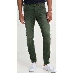 Spodnie męskie: Scotch & Soda SKIM YARN DYE Jeansy Slim Fit military green