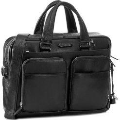 Torba na laptopa PIQUADRO - CA2849MO/N Czarny. Czarne plecaki męskie marki Piquadro, ze skóry. W wyprzedaży za 1479,00 zł.