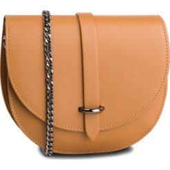 Torebka CREOLE - K10559 Koniak. Brązowe torebki klasyczne damskie Creole, ze skóry. Za 129,00 zł.