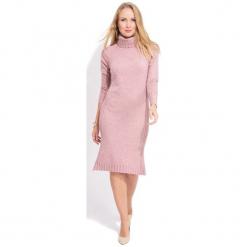 Fille Du Couturier Sukienka Damska Avril 38 Różowy. Czerwone sukienki hiszpanki Fille Du Couturier, na co dzień, z materiału, z długim rękawem. W wyprzedaży za 299,00 zł.