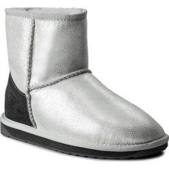 Buty EMU AUSTRALIA - Stinger Metallic Mini W11378 Silver. Szare buty zimowe damskie EMU Australia, ze skóry, na niskim obcasie. W wyprzedaży za 379,00 zł.