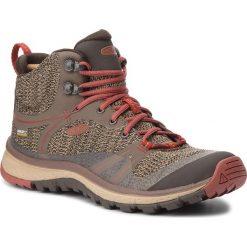Trekkingi KEEN - Terradora Mid Wp 1017687  Canteen/Marsala. Brązowe buty trekkingowe damskie Keen. W wyprzedaży za 399,00 zł.