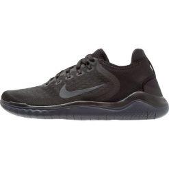 Nike Performance FREE RN 2018 Obuwie do biegania neutralne black/anthracite. Czarne buty do biegania męskie marki Nike Performance, z materiału. Za 469,00 zł.