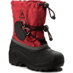 Śniegowce KAMIK - Southpole4 NK8727 Red. Czerwone buty zimowe chłopięce marki Kamik, z materiału. W wyprzedaży za 219,00 zł.