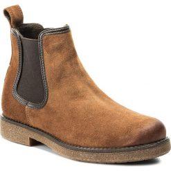 Sztyblety LASOCKI - RIKA-04 Brązowy. Czarne buty zimowe damskie marki Lasocki, ze skóry. Za 199,99 zł.
