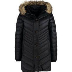 Abercrombie & Fitch CORE MIDTHIGH Płaszcz puchowy black. Czarne płaszcze damskie puchowe Abercrombie & Fitch, l, z materiału. W wyprzedaży za 681,85 zł.