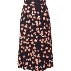 Długie spódnice: Bruuns Bazaar SASHA SKIRT Długa spódnica black