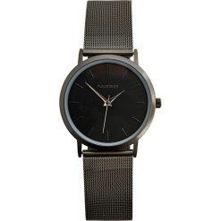 Czarny minimalistyczny zegarek. Czarne zegarki męskie Pull&Bear. Za 89,90 zł.