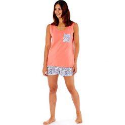 Piżamy damskie: Damska piżama bawełniana Paisley