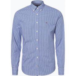 Tommy Hilfiger - Koszula męska – Ivy, niebieski. Niebieskie koszule męskie w kratę marki TOMMY HILFIGER, l, z bawełny. Za 379,95 zł.