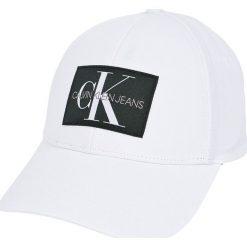 Calvin Klein Jeans - Czapka. Szare czapki z daszkiem męskie marki Calvin Klein Jeans, z bawełny. W wyprzedaży za 119,90 zł.