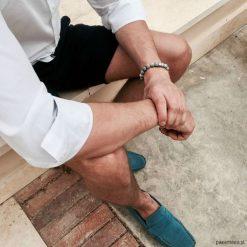 Biżuteria i zegarki: Bransoletka męska GREY MATE