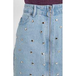 Minispódniczki: Glamorous Spódnica trapezowa light stonewash