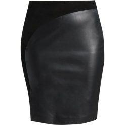 Spódniczki: Second Female ELFES Spódnica ołówkowa  black