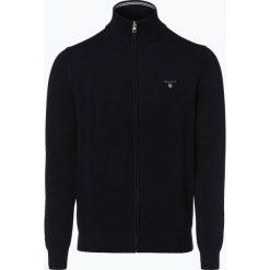 Gant - Kardigan męski, niebieski. Niebieskie swetry rozpinane męskie marki GANT, m, z bawełny. Za 699,95 zł.