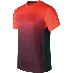 Koszulka treningowa MT71066AOP. Czerwone koszulki sportowe męskie marki New Balance, na jesień, m, z materiału. Za 69,99 zł.
