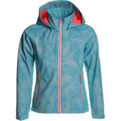Icepeak TAILA Kurtka Softshell turquoise. Niebieskie kurtki chłopięce przeciwdeszczowe Icepeak, z elastanu. Za 249,00 zł.