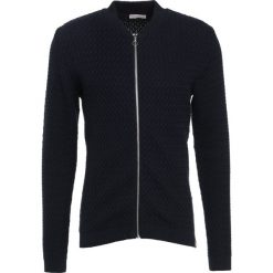 Kardigany męskie: Knowledge Cotton Apparel SMALL DIAMOND CARDIGAN Kardigan dark blue