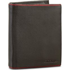 Duży Portfel Męski SAMSONITE - 001-012A0-0129-1/4  Black/Red. Czarne portfele męskie Samsonite, ze skóry. W wyprzedaży za 209,00 zł.