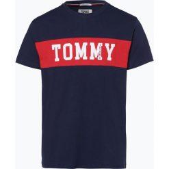 Tommy Jeans - T-shirt męski, czarny. Czarne t-shirty męskie Tommy Jeans, m, z napisami, z jeansu. Za 179,95 zł.