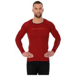 Bejsbolówki męskie: Brubeck Bluza męska 3D Run PRO z długim rękawem czerwona r. XXL (LS13000)