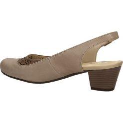 CZÓŁENKA GALANT G-32. Szare buty ślubne damskie Casu, na koturnie. Za 159,99 zł.