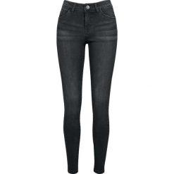 Urban Classics Ladies Skinny Denim Pants Jeansy damskie czarny. Czarne boyfriendy damskie Urban Classics, z denimu. Za 121,90 zł.